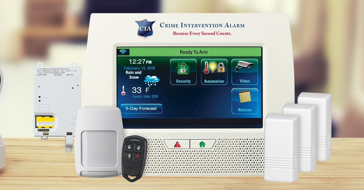 Free Home Security System FB Ad
