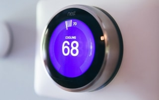 Nest thermostat installed by CIA