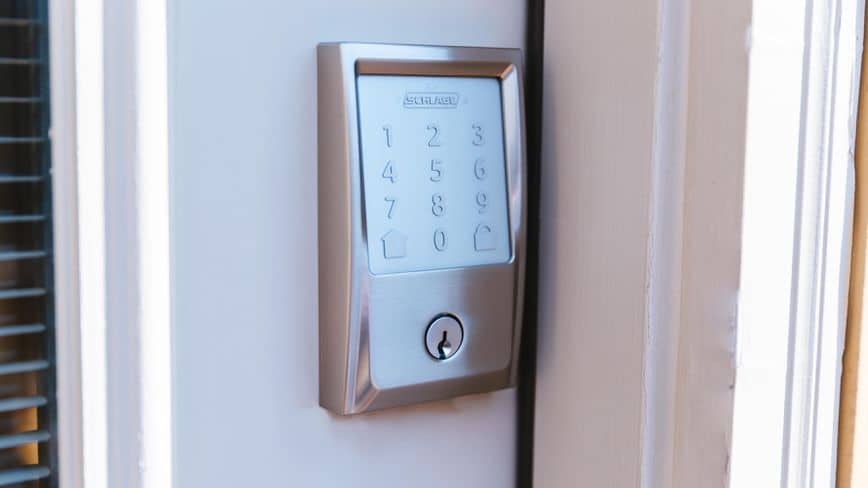 Access control product installed by Crime Intervention Alarm